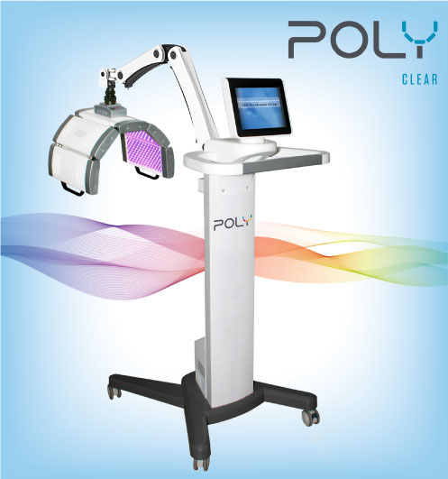 Poly Clear Blue Light LED Therapy